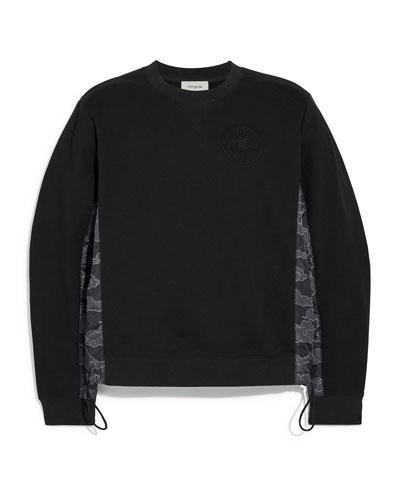 Men's Coach x MBJ Cloud-Pattern Sweatshirt