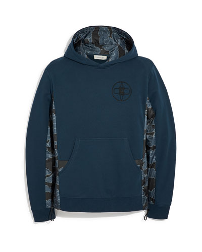Men's Coach x MBJ Cloud-Pattern Hoodie