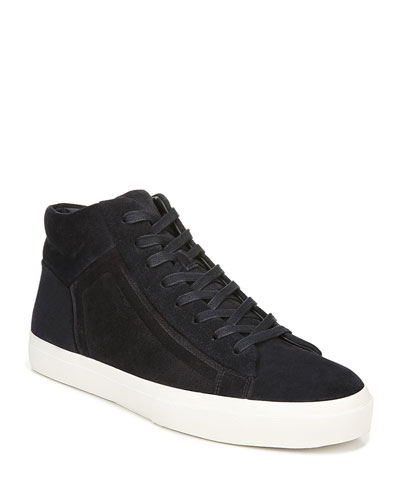 Men's Fynn Suede Mid-Top Sneakers