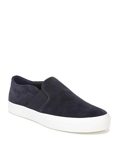 Men's Fenton Coastal Suede Slip-On Sneakers