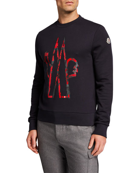 Moncler Men's Logo Graphic Sweatshirt