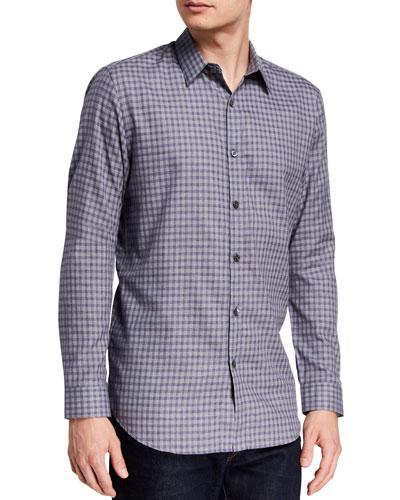 Men's Irving Visby Check Dress Shirt