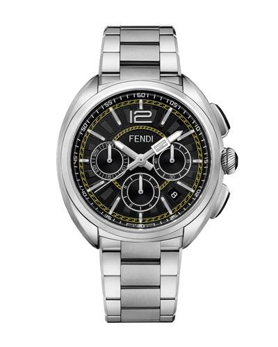 Men's Momento Fendi Stainless Steel Chronograph Watch