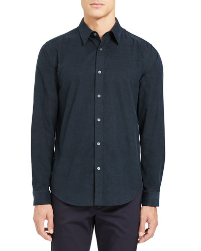 Birthday Shirt Party Mens Long Sleeve Casual Tops Stand-Collar Button Pinstriped