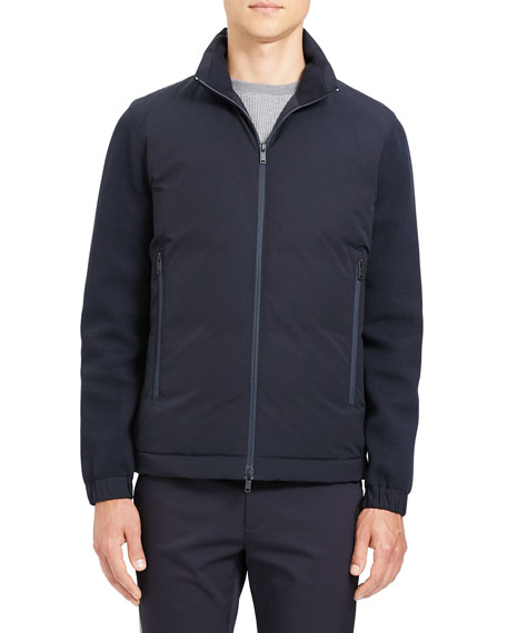 Theory Men's Alpine Diffusion-Knit Jacket