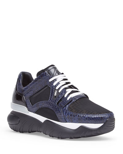 Men's Exotic Chunky Runner Sneakers