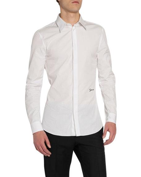 Givenchy Men's Classic Signature Slim-Fit Sport Shirt