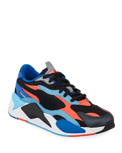 Men's RS-X3 Level Up Colorblock Running Sneakers