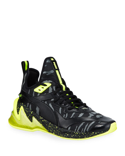 Men's LQDCell Origin Zebra-Print Speckled Glow Sneakers