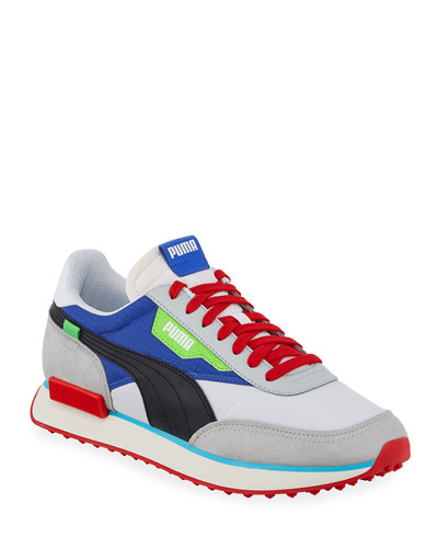 Men's Rider Ride On Colorblock Running Sneakers