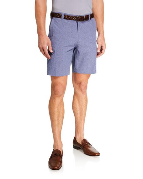 Peter Millar Men's Seaside Gulf Hybrid Stretch Shorts