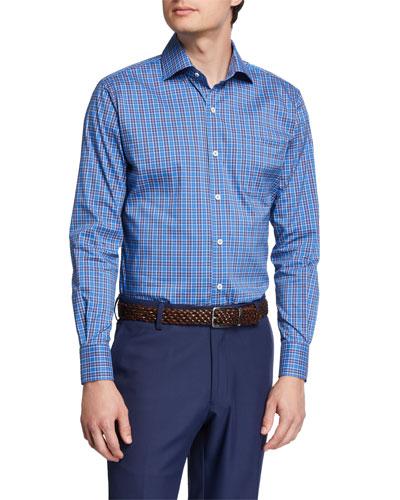 Men's Crown Comfort Newberg Check Sport Shirt