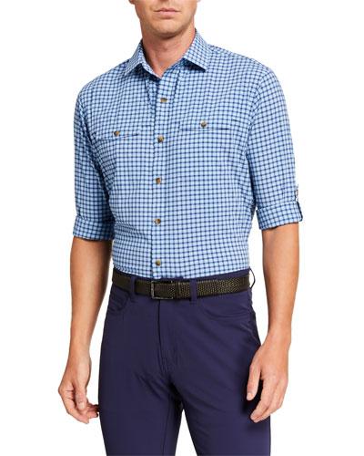 Men's Seaside Gulf Vented Sport Shirt