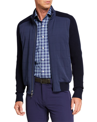 Men's Crown Crafted Stealth Cardigan