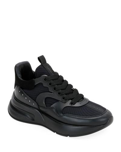 Men's Tonal Oversized Runner Sneakers