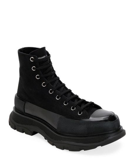 Alexander McQueen Men's Tread Slick Boots