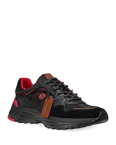 Men's MBJ Mixed-Media Running Sneakers