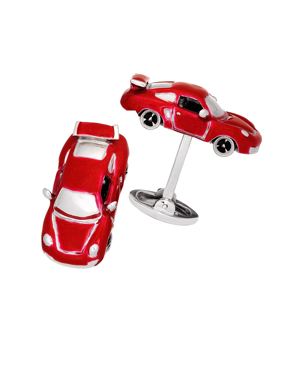 Fast Race Car Cuff Links