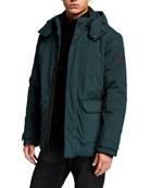 Emporio Armani Men's Mountain Pocket Jacket