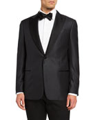 Emporio Armani Men's G-Line Tonal-Pattern Dinner Jacket