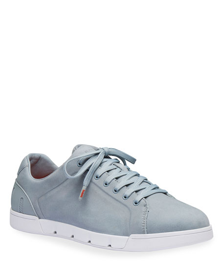 Swims Men's Breeze Tennis Leather Sneakers