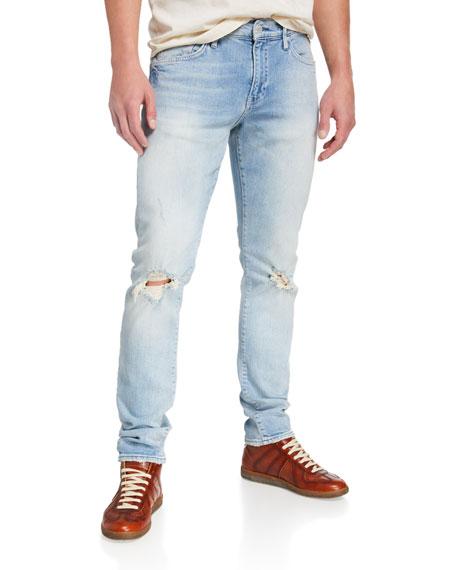 Ovadia Men's Oli Slim Distressed Jeans