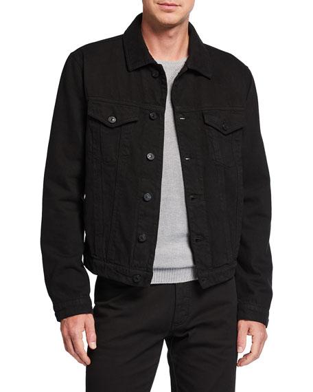 Ermenegildo Zegna Men's Denim Trucker Jacket