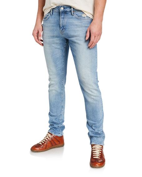 Ovadia Men's Anthem Light-Wash Slim Jeans