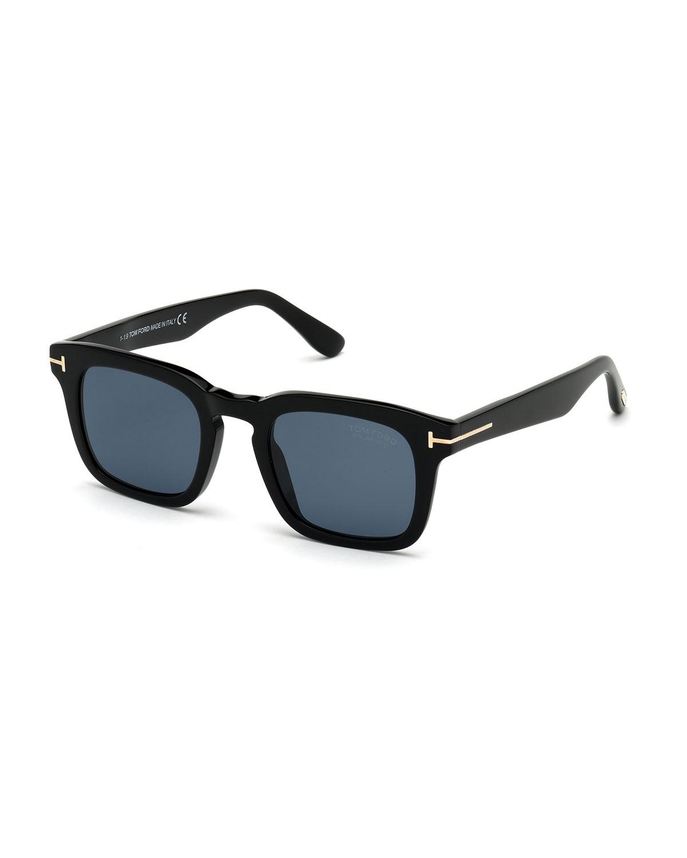 Men's Dax Square Acetate Sunglasses