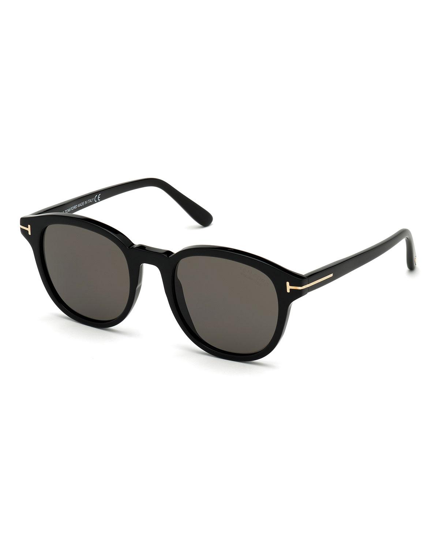 Men's Jameson Round Acetate Sunglasses