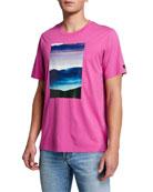 Ovadia Men's Tatra Landscape Graphic T-Shirt