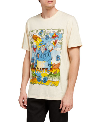 Men's Wizards and World Graphic T-Shirt