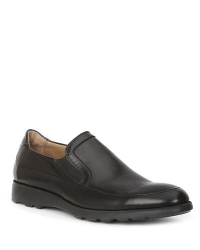 Men's Vegas Leather Slip-On Loafers