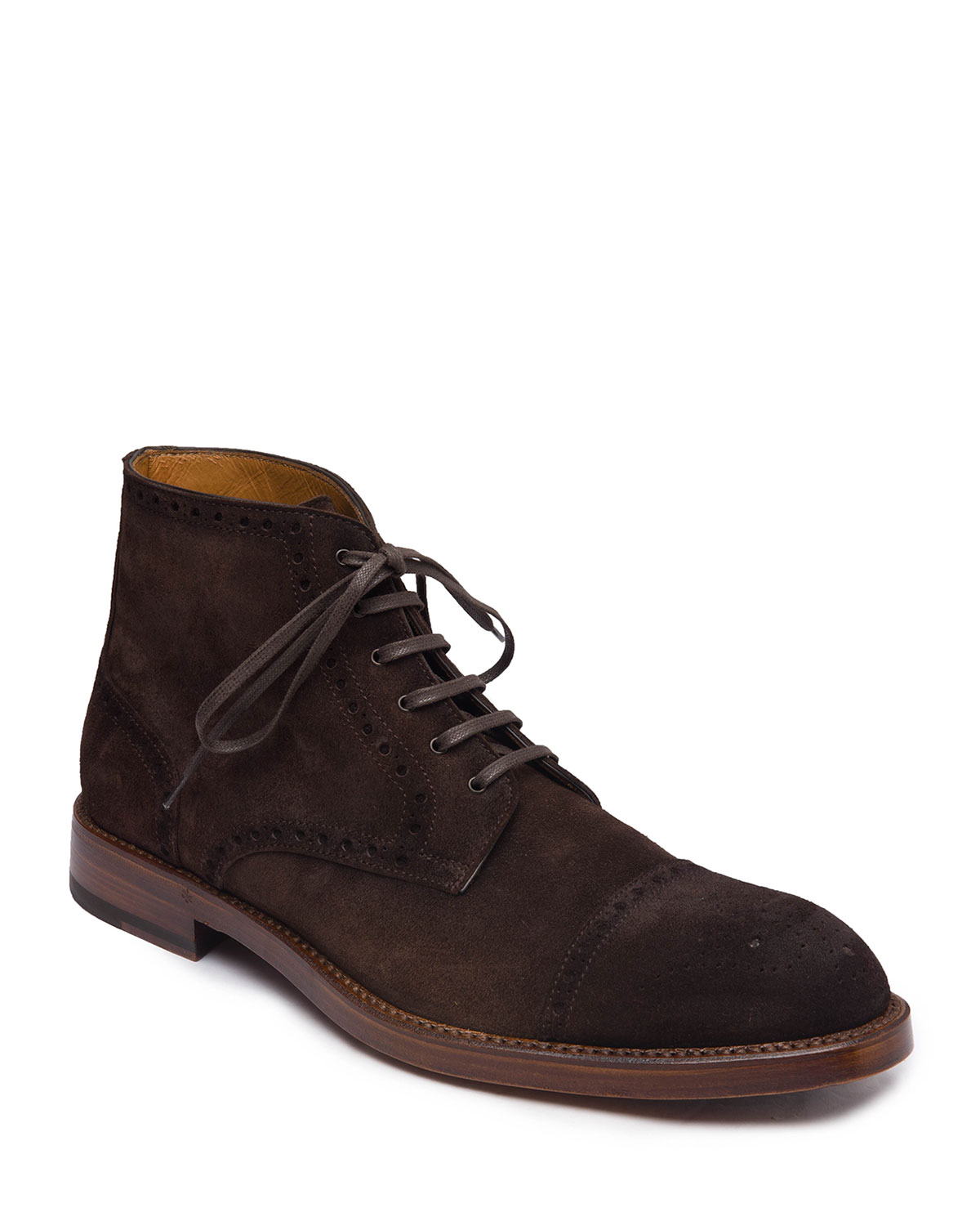 Men's Octavio Brogue Suede Boots
