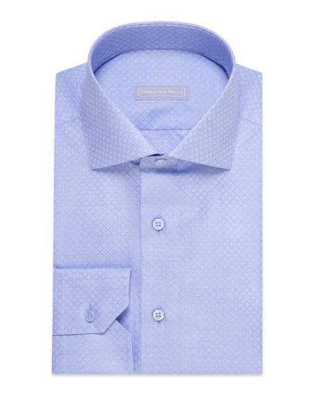 Stefano Ricci Men's Diamond Optic Dress Shirt