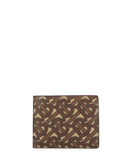 Burberry Men's TB-Monogram Hipfold Wallet