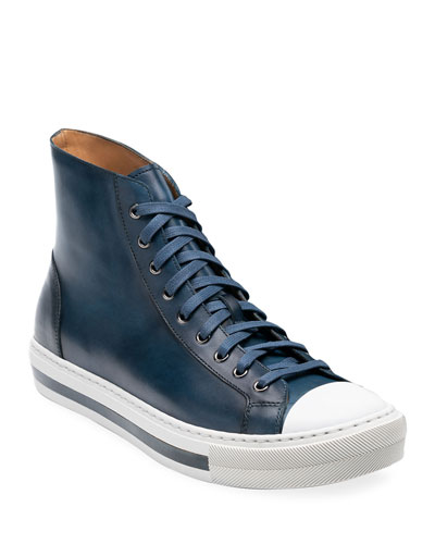 Men's Illora High-Top Leather Sneakers