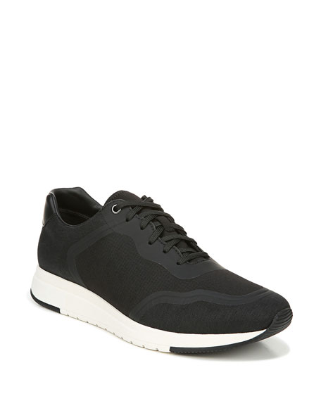 Vince Men's Patten Water-Repellant Knit Trainer Sneakers
