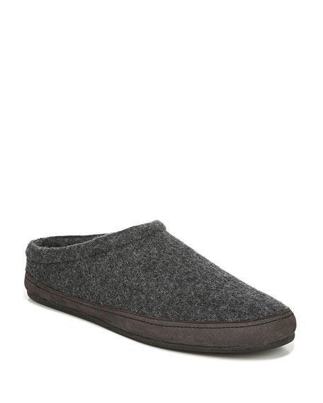 Vince Men's Howell Knitted Wool Mule Slipper