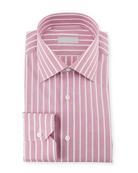 Stefano Ricci Men's Handmade Asti Stripe Dress Shirt