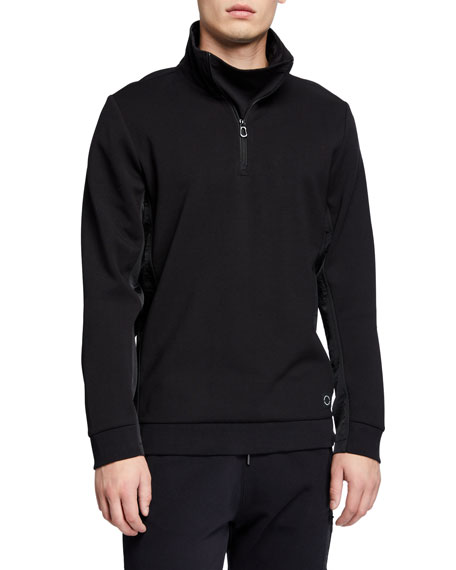 Scotch & Soda Men's Club Nomade Half-Zip Sweatshirt