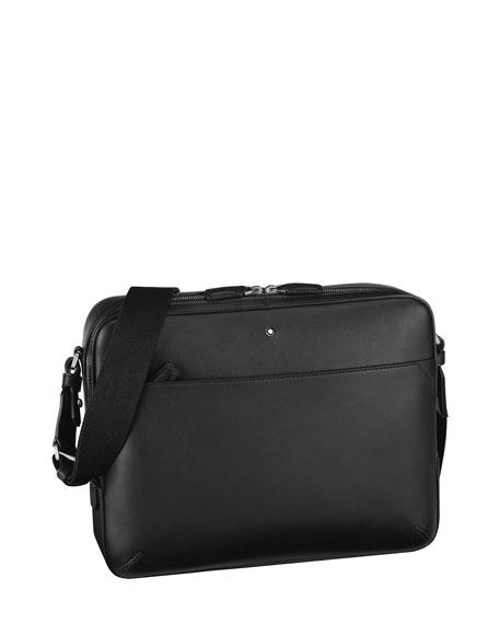 Montblanc Men's Meisterstuck Urban Leather Messenger Bag