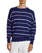 Isabel Marant Men's Obli Striped Sweater