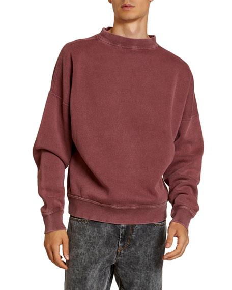 Isabel Marant Men's Wills Mock-Neck Sweatshirt