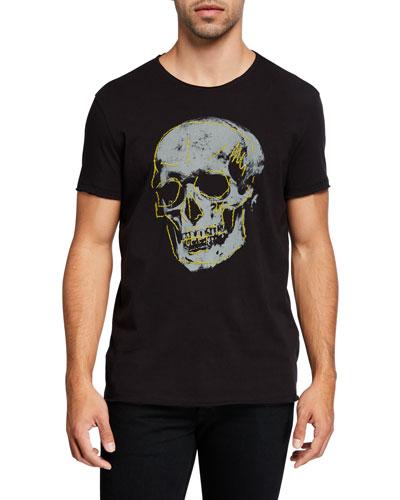 Men's Skull Graphic T-Shirt