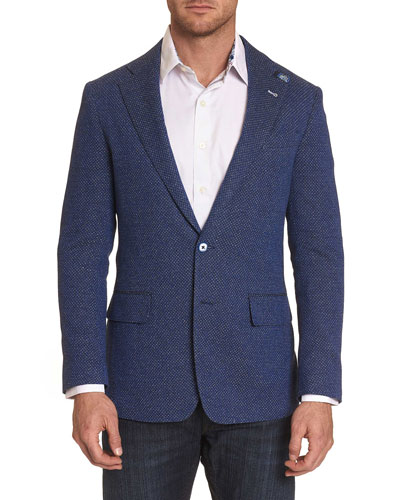 Men's Trinity Cotton Two-Button Jacket