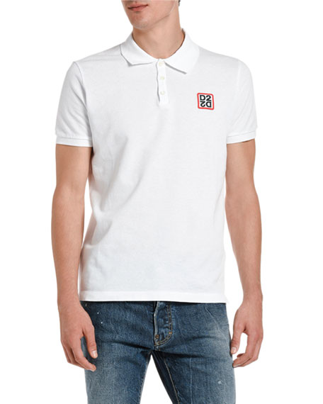 Dsquared2 Men's Classic Fit Pique Polo Shirt