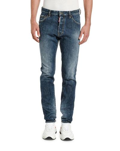 Men's Cool Guy Dark-Wash Jeans