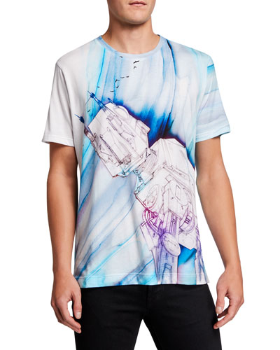 Men's Star Wars Rebel Birds Graphic T-Shirt