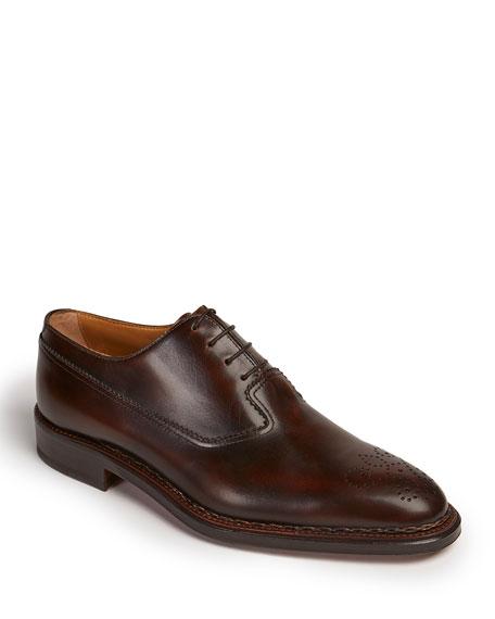 Paul Stuart Men's Madrid Brogue Leather Oxford Shoes